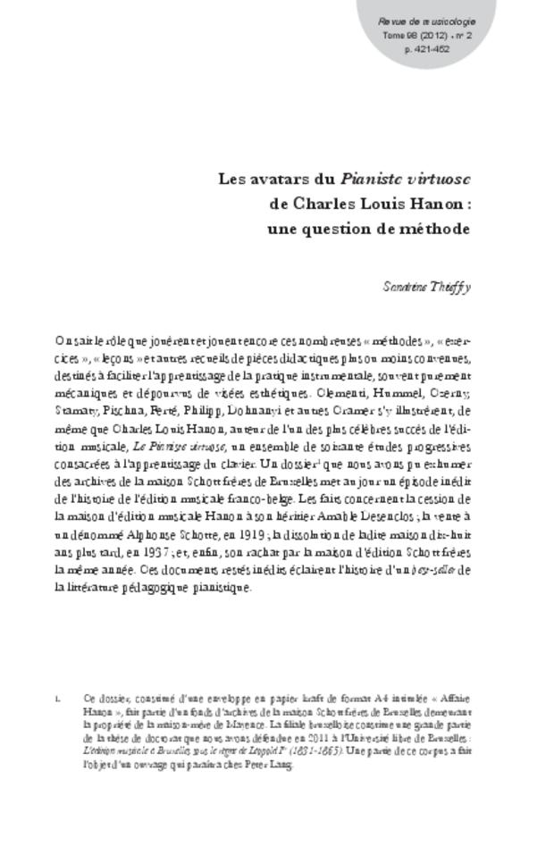 Revue de musicologie, t. 98/2 (2012), extrait 9