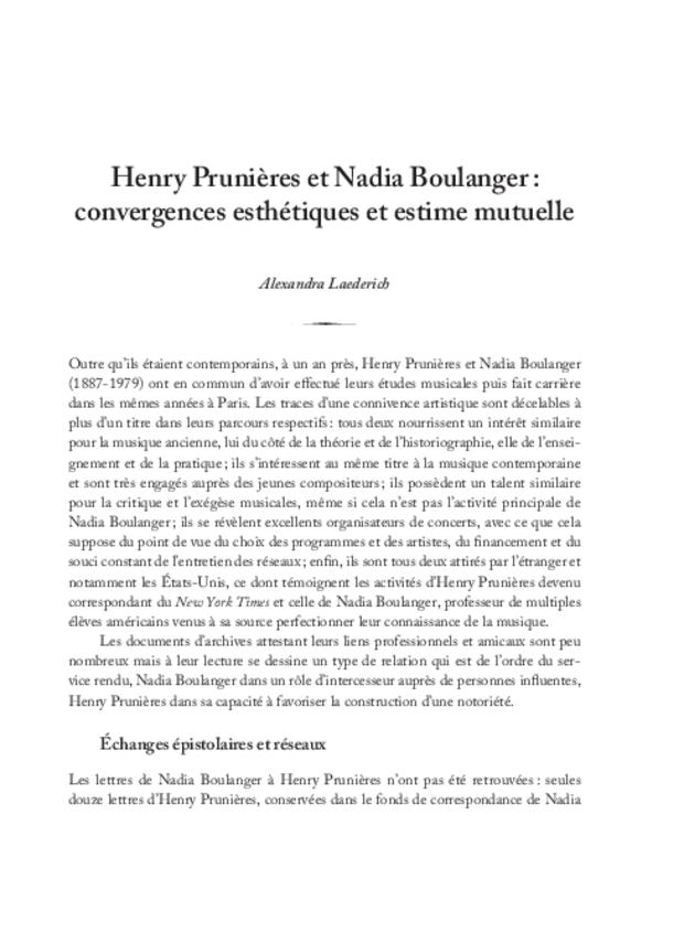 Henry Prunières (1886-1942), extrait 10