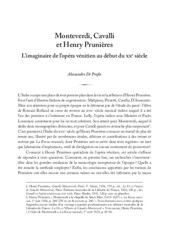 Henry Prunières (1886-1942), extrait 11