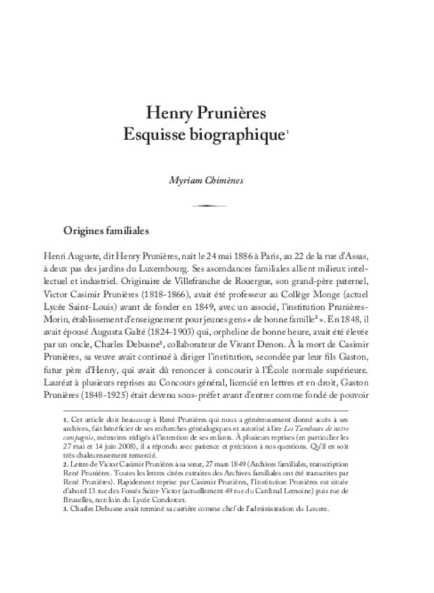 Henry Prunières (1886-1942), extrait 4