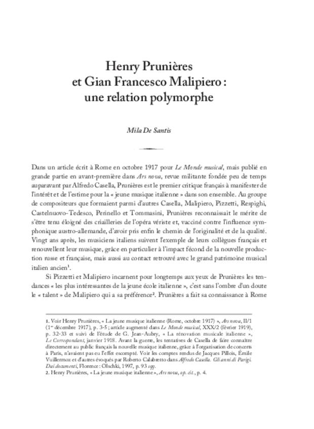 Henry Prunières (1886-1942), extrait 7