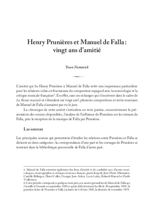 Henry Prunières (1886-1942), extrait 9