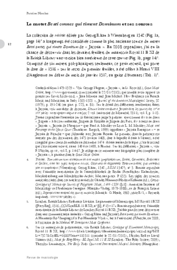 Revue de musicologie, t. 99/1 (2013), extrait 12