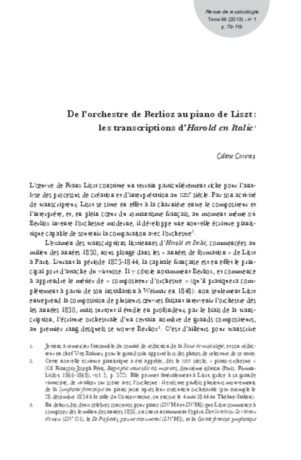 Revue de musicologie, t. 99/1 (2013), extrait 17