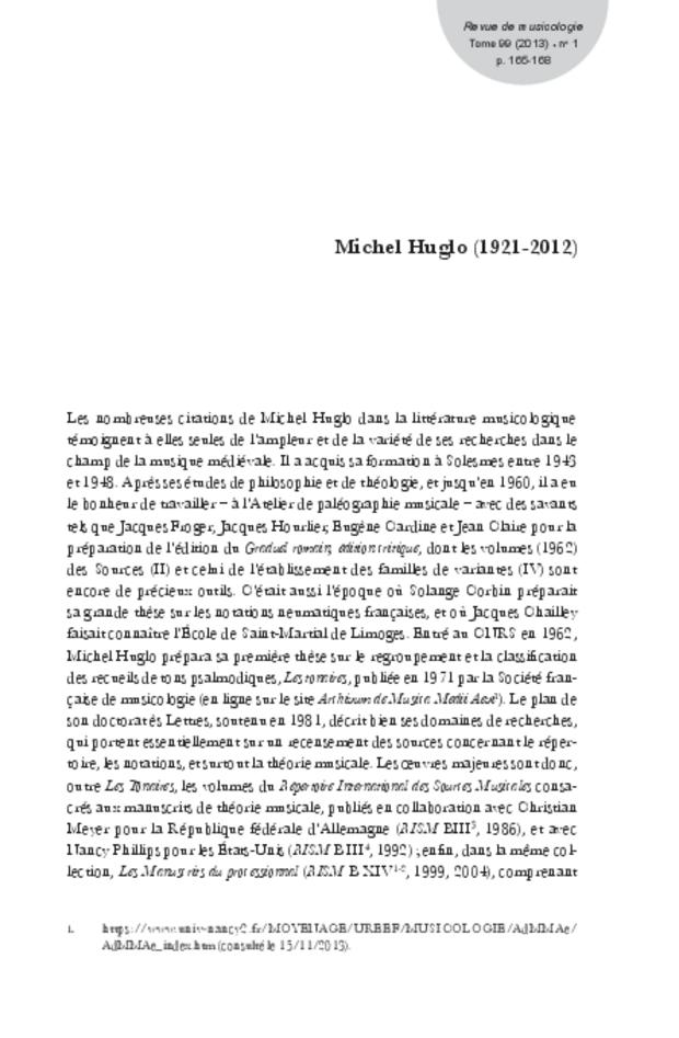 Revue de musicologie, t. 99/1 (2013), extrait 23