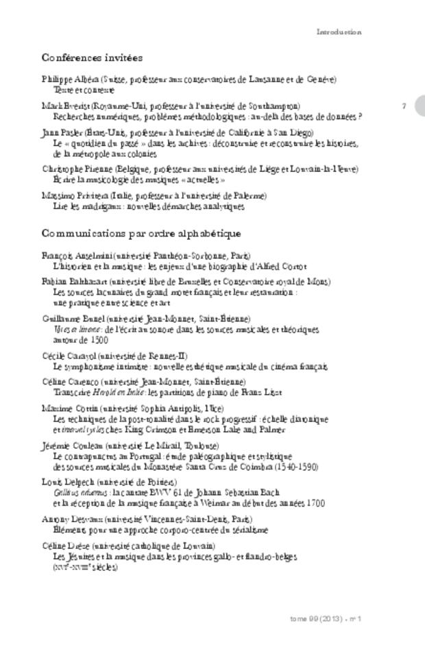 Revue de musicologie, t. 99/1 (2013), extrait 7
