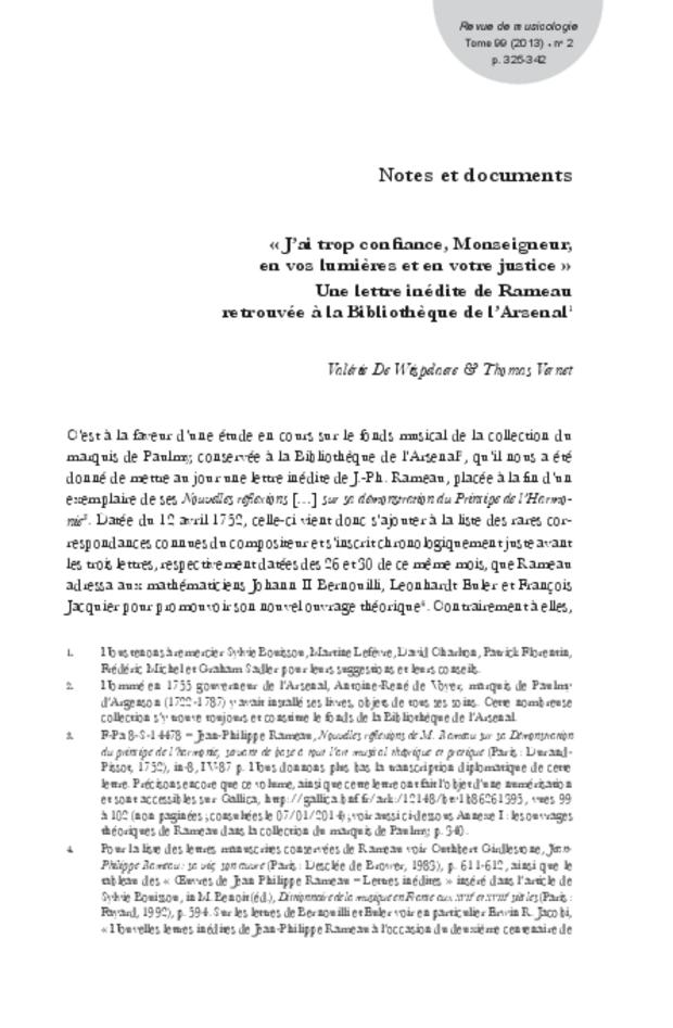 Revue de musicologie, t. 99/2 (2013), extrait 11