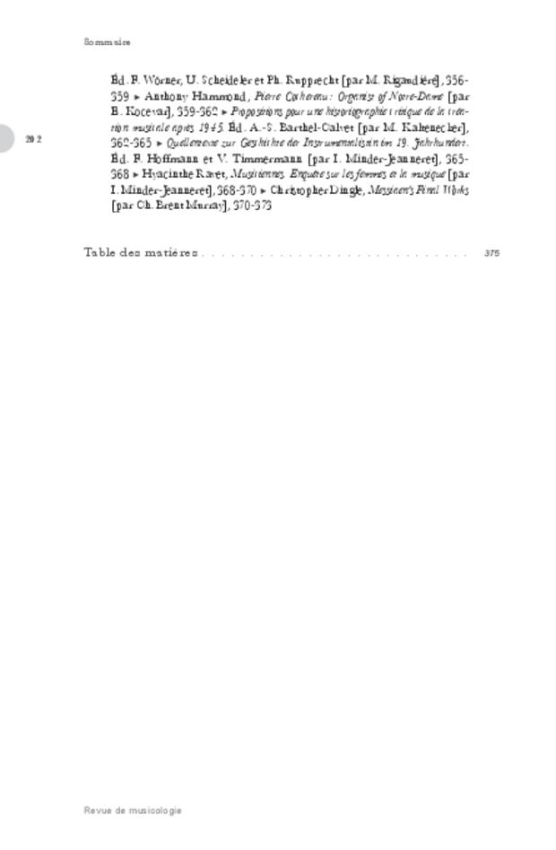 Revue de musicologie, t. 99/2 (2013), extrait 2