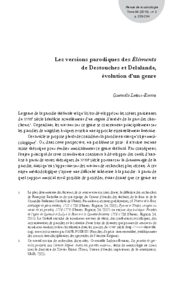 Revue de musicologie, t. 99/2 (2013), extrait 3