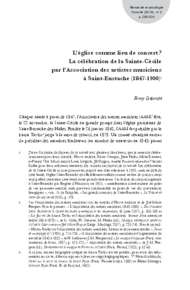 Revue de musicologie, t. 99/2 (2013), extrait 9