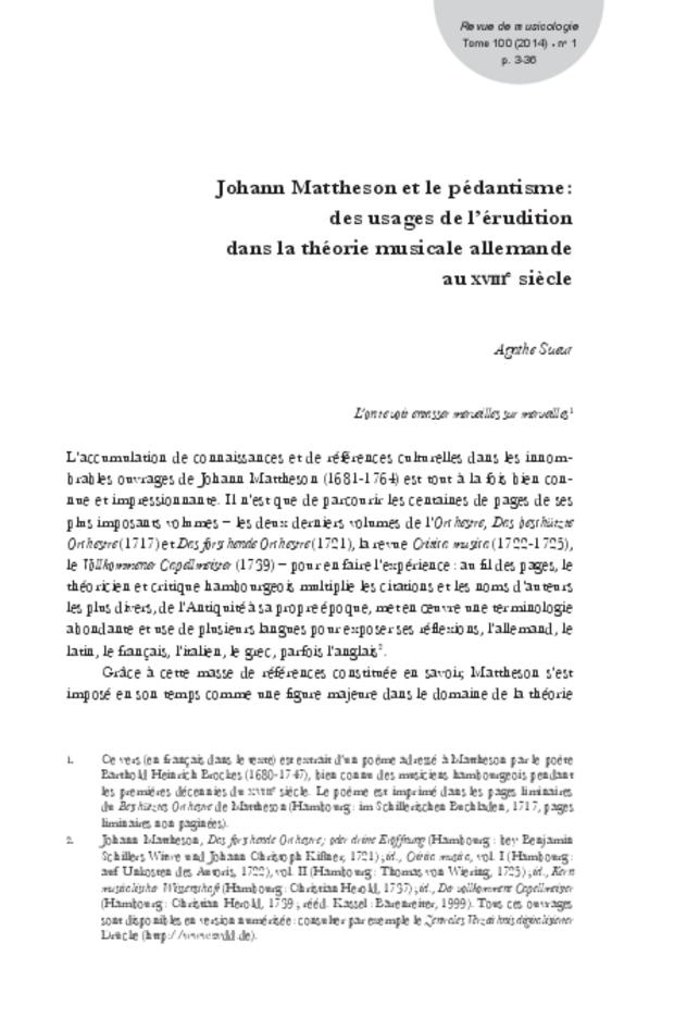 Revue de musicologie, t. 100/1 (2014), extrait 3
