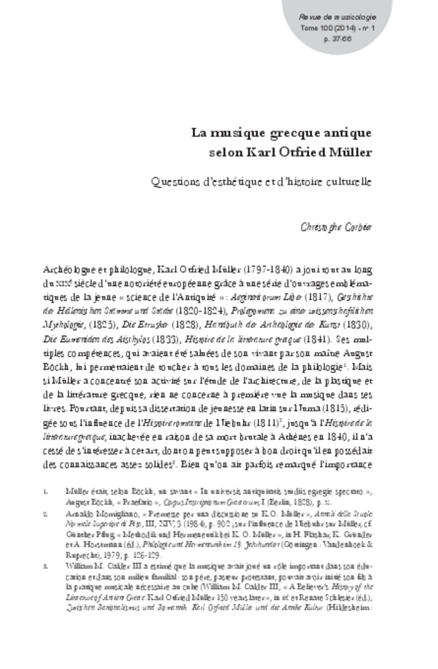Revue de musicologie, t. 100/1 (2014), extrait 5