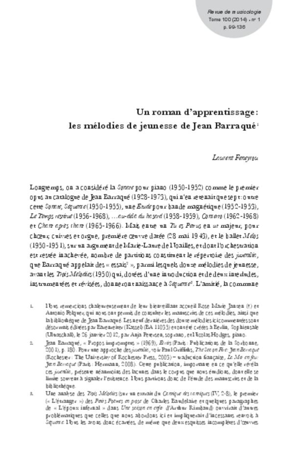 Revue de musicologie, t. 100/1 (2014), extrait 9