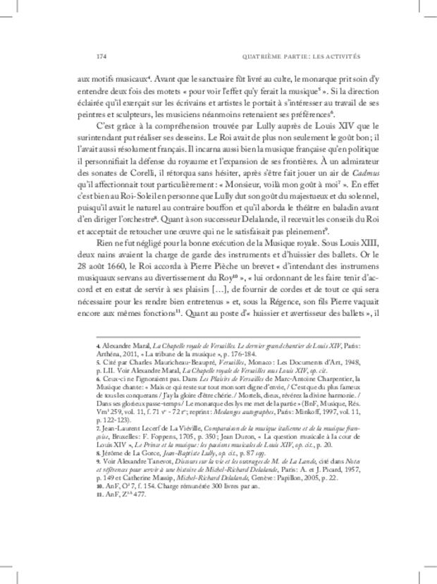 Les Violons de la musique de la chambre du roi sous Louis XIV, extrait 10