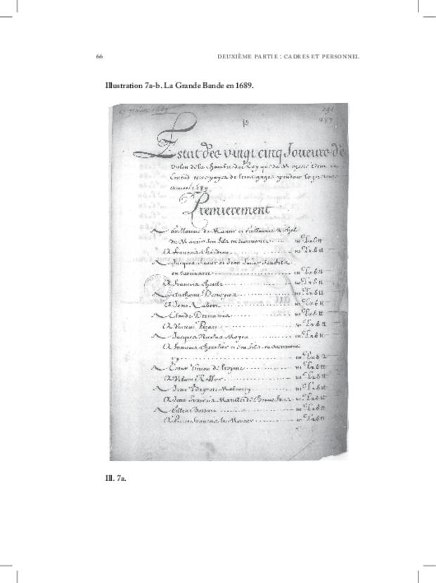 Les Violons de la musique de la chambre du roi sous Louis XIV, extrait 6