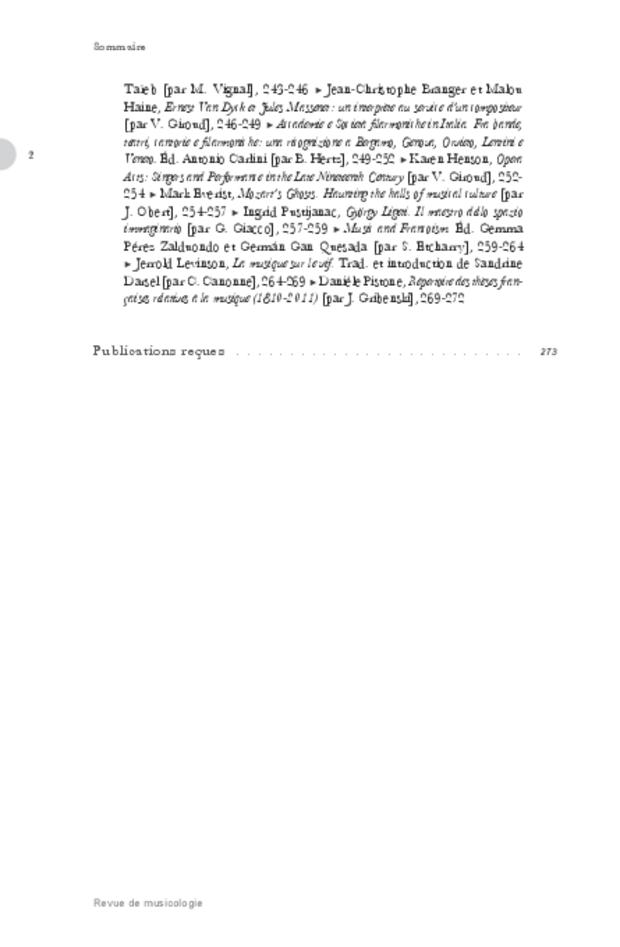 Revue de musicologie, t. 101/1 (2015), extrait 2