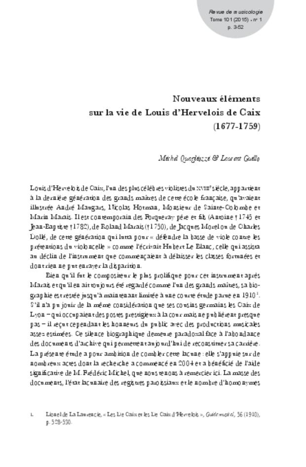 Revue de musicologie, t. 101/1 (2015), extrait 3