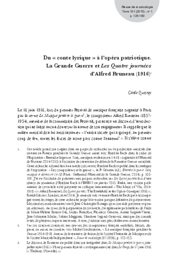 Revue de musicologie, t. 101/1 (2015), extrait 9