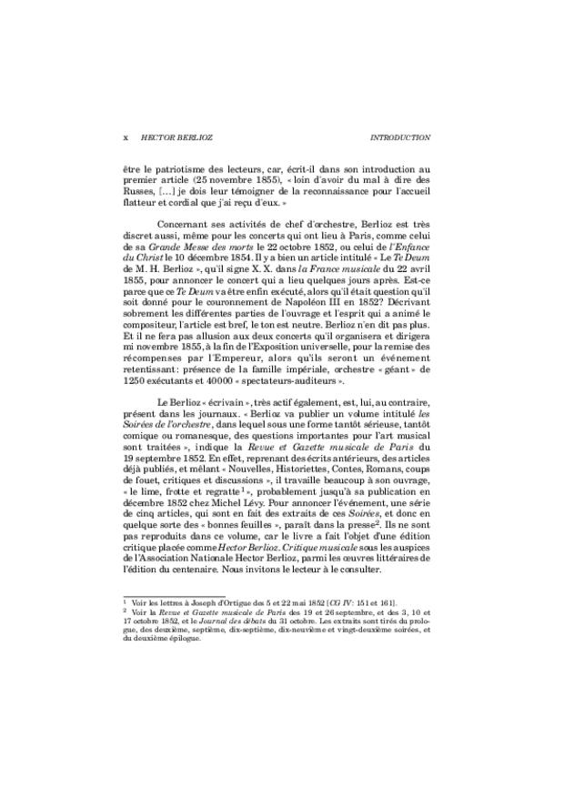 Critique musicale, volume 8: 1852-1855, extrait 10