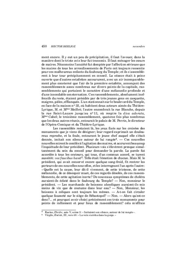 Critique musicale, volume 8: 1852-1855, extrait 14