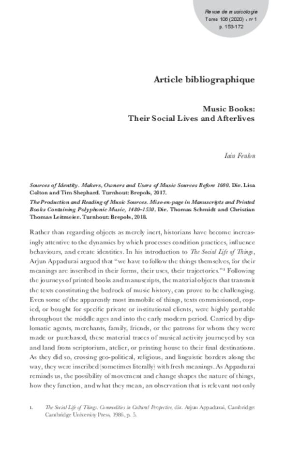 Revue de musicologie, t. 106/1 (2020), extrait 15
