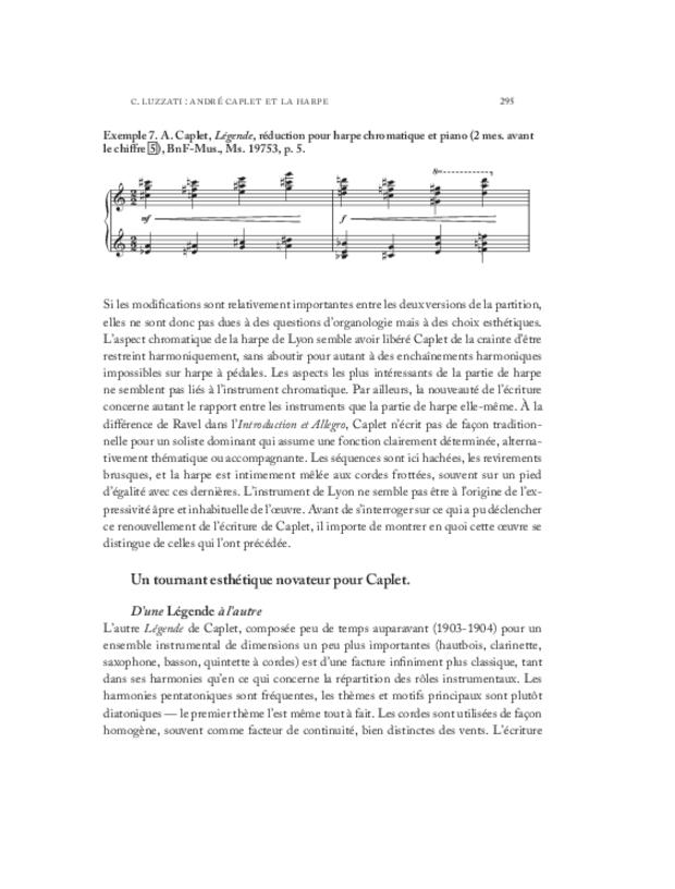 André Caplet, compositeur et chef d'orchestre, extrait 18
