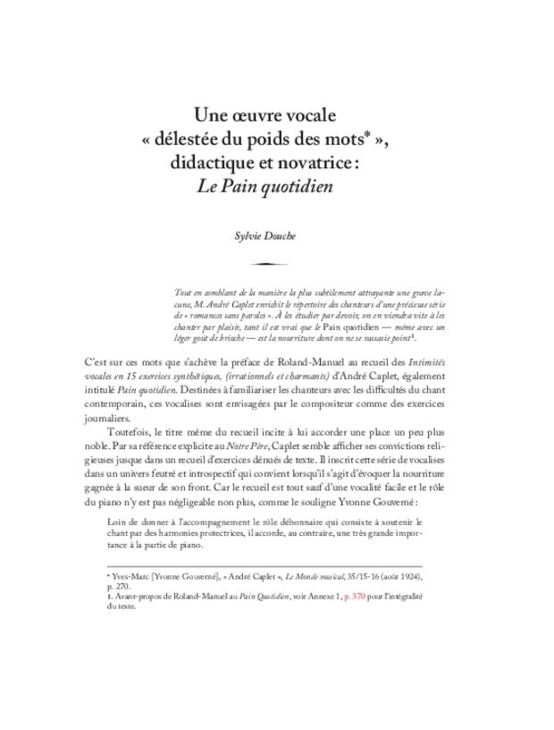 André Caplet, compositeur et chef d'orchestre, extrait 21