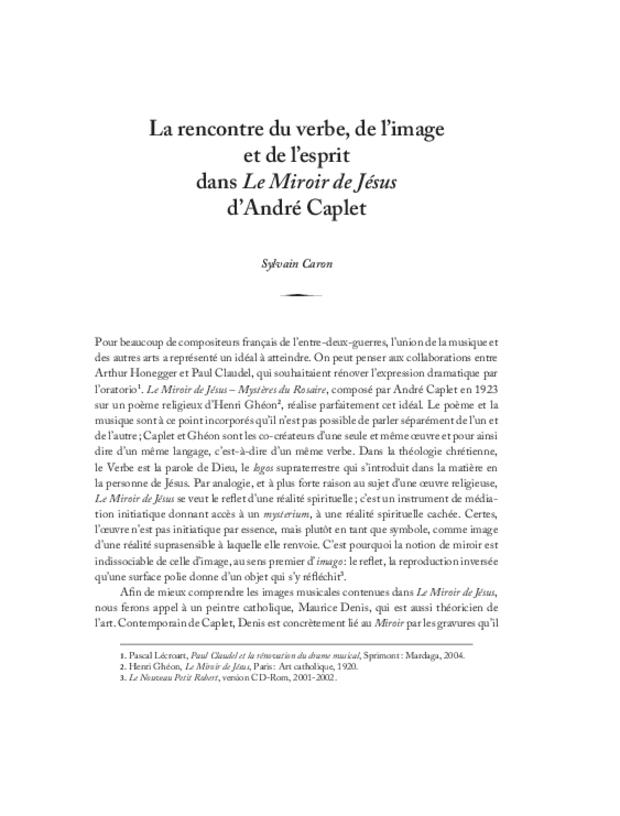André Caplet, compositeur et chef d'orchestre, extrait 27