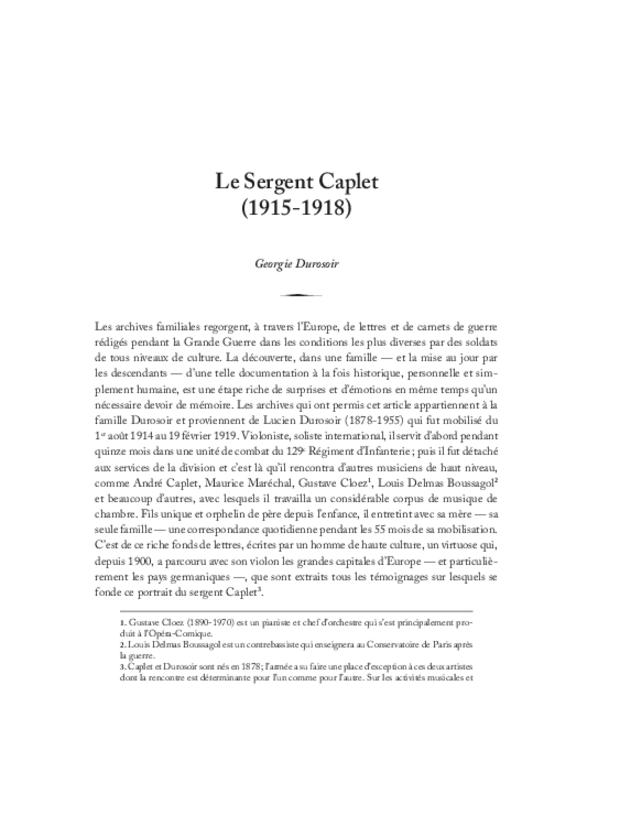 André Caplet, compositeur et chef d'orchestre, extrait 7
