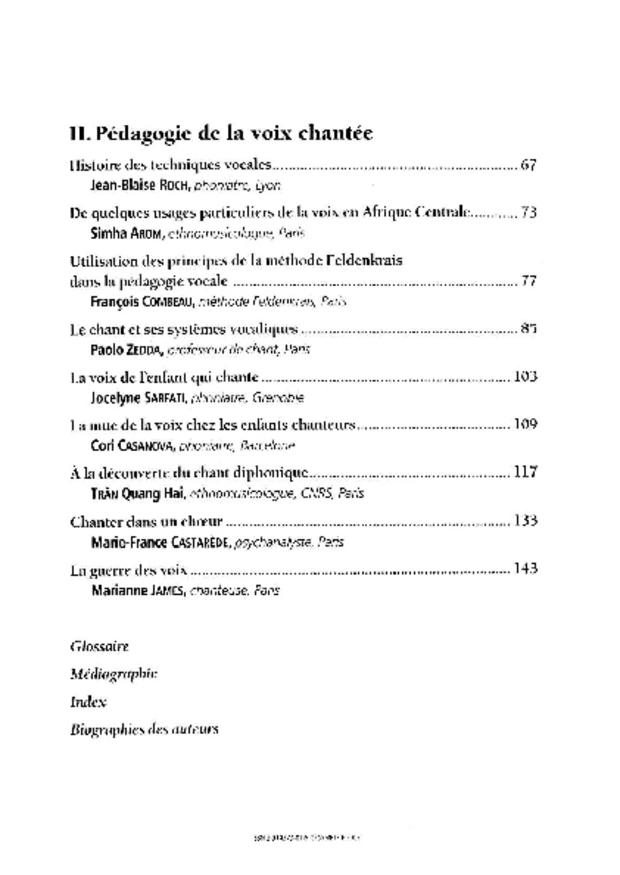 Moyens d'investigation et pédagogie de la voix chantée, extrait 4