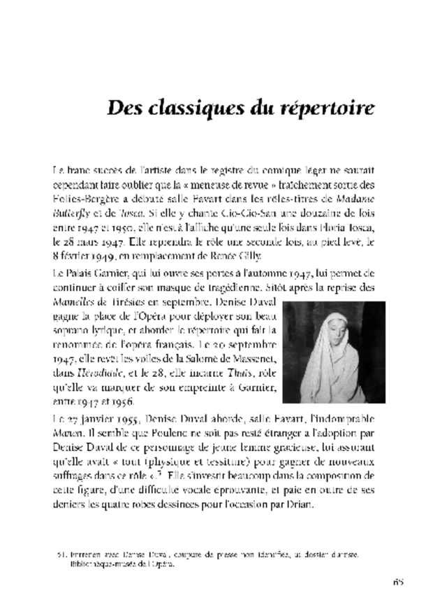 Denise Duval, extrait 3