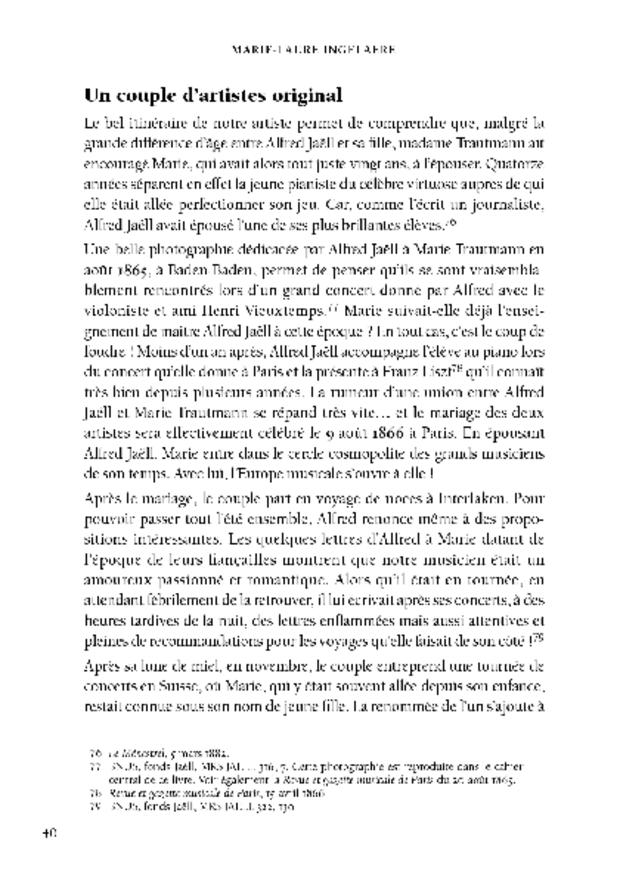 Marie Jaëll, extrait 3