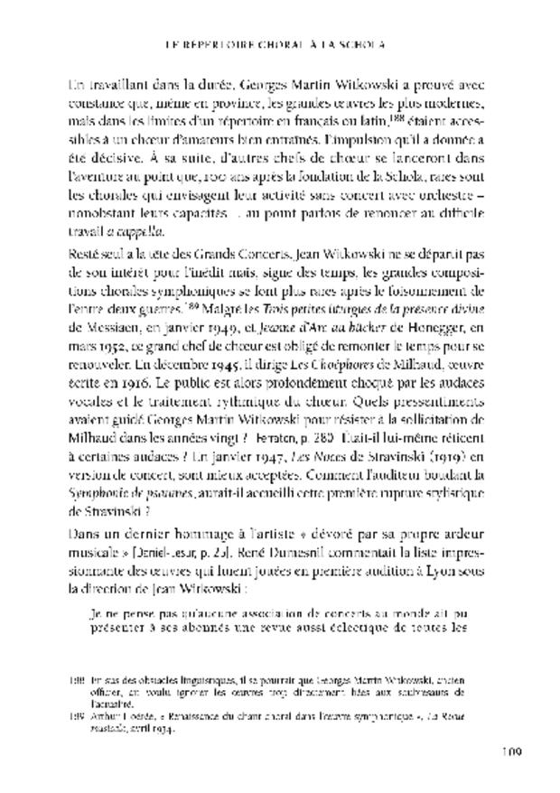 Le mouvement scholiste de Paris à Lyon, extrait 4