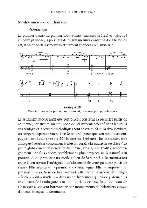 Le Trio avec piano, extrait 5