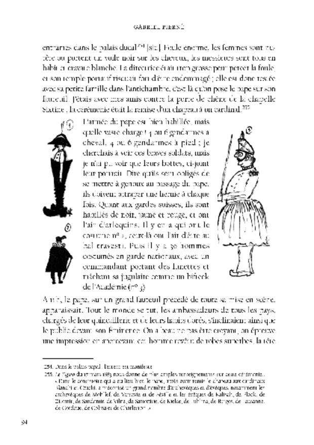 Correspondance romaine, extrait 3