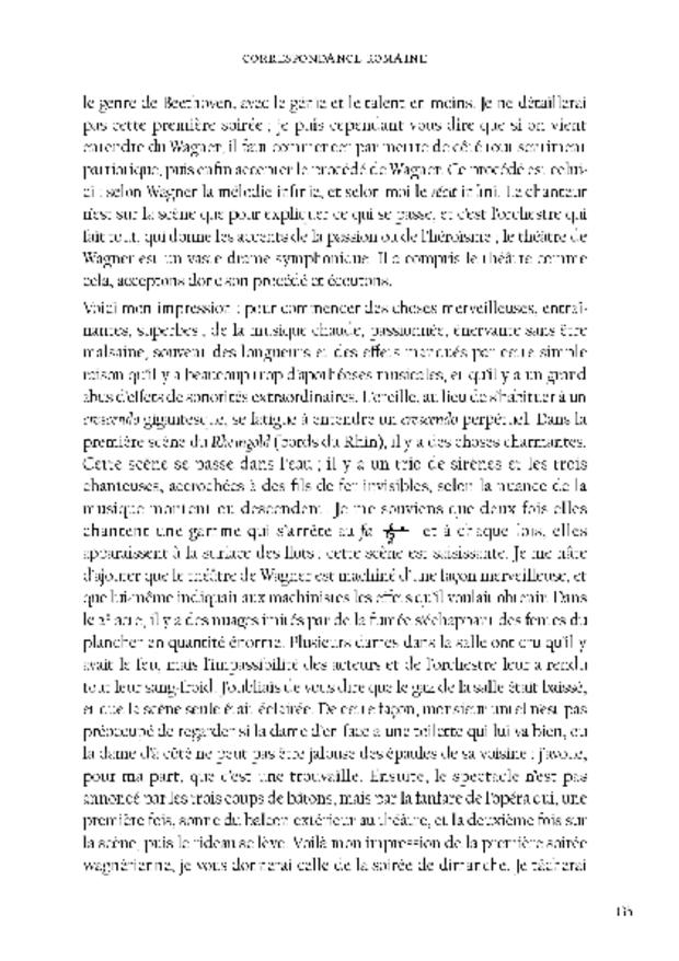 Correspondance romaine, extrait 4