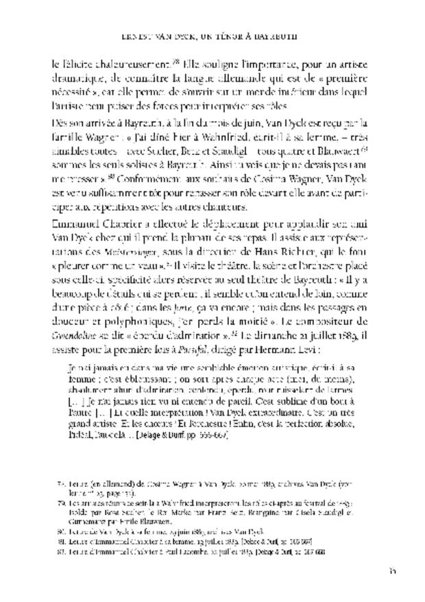 Ernest Van Dyck, un ténor à Bayreuth, extrait 3