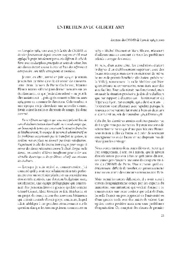 25 ans CNSMD Lyon, extrait 3