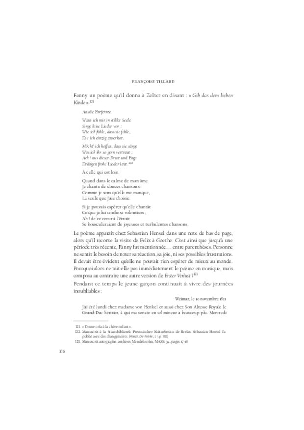 Fanny Hensel, extrait 4