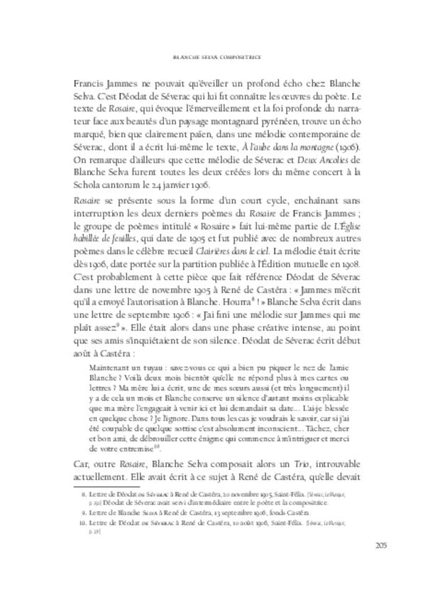 Blanche Selva, extrait 11