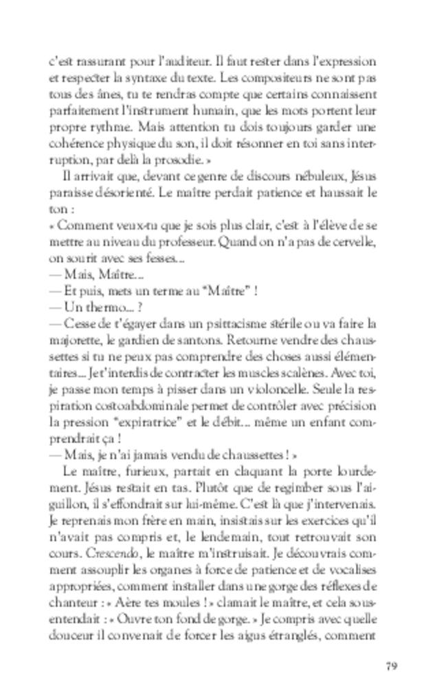 L'épopée Despieds, extrait 5