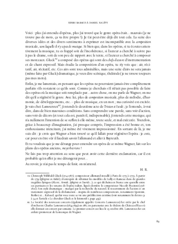 Correspondance et écrits de jeunesse, extrait 6