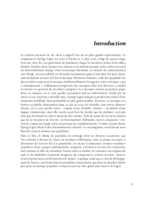 György Ligeti, extrait 3