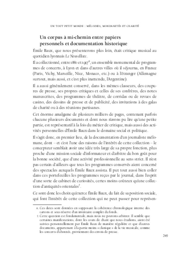 Aspects de la mélodie française, extrait 10