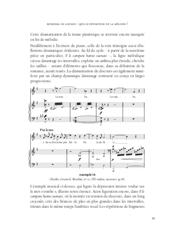 Aspects de la mélodie française, extrait 3