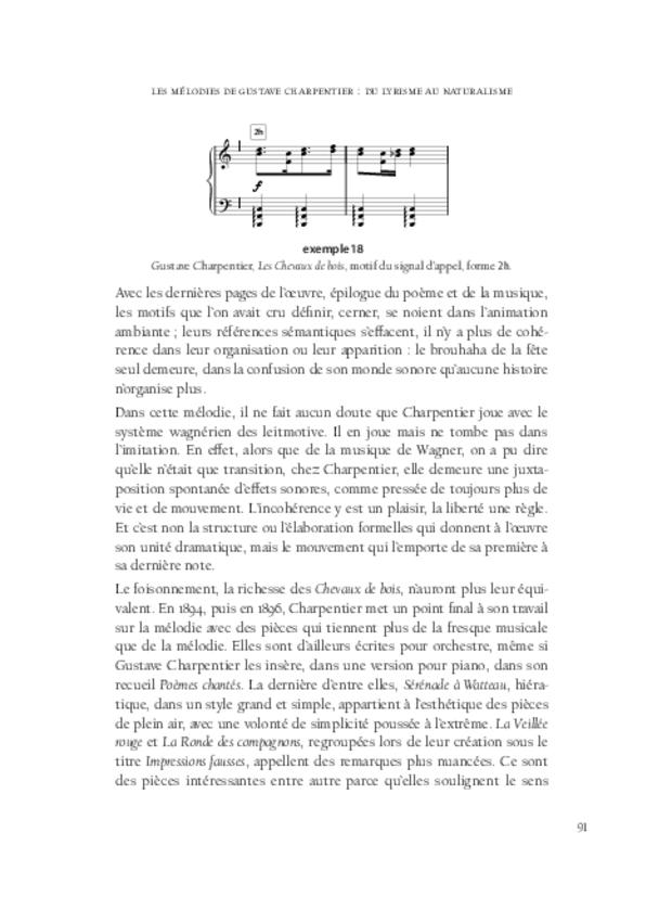 Aspects de la mélodie française, extrait 4