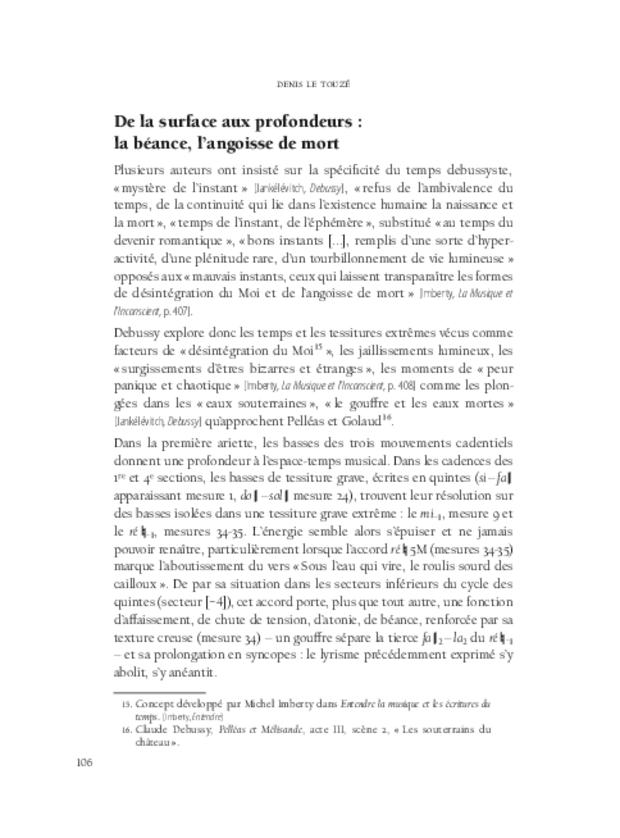 Aspects de la mélodie française, extrait 5