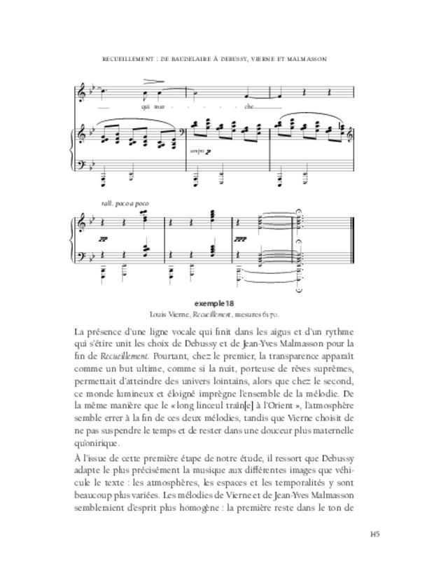 Aspects de la mélodie française, extrait 6