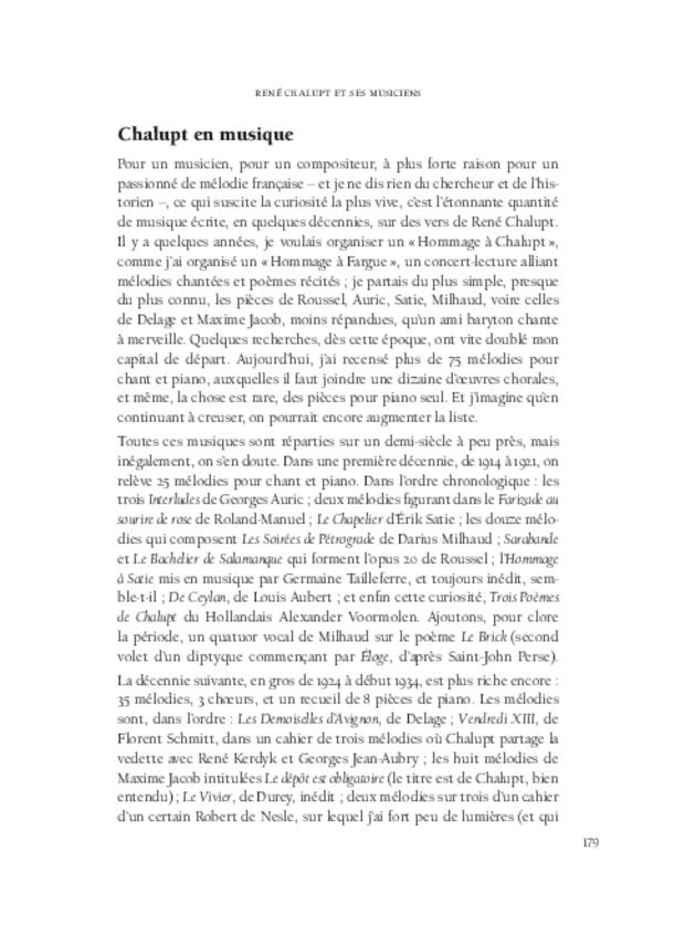 Aspects de la mélodie française, extrait 7