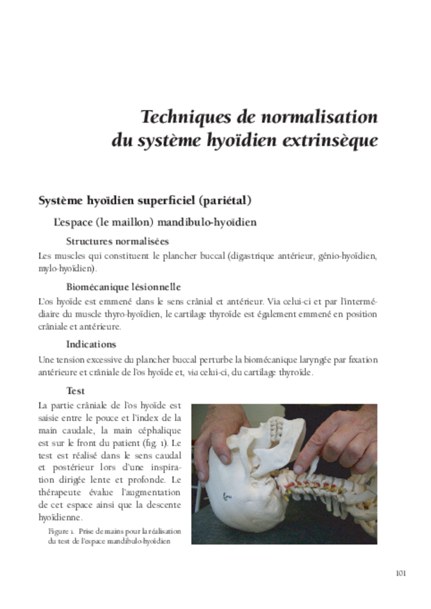 Techniques ostéopathiques appliquées à la phoniatrie, extrait 7
